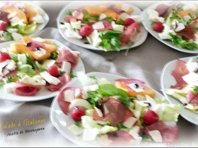 Recettes de salade italienne - Blog de cuisine italienne ...