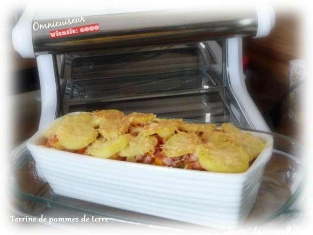 Recettes de terrines et pomme de terre - Recette de cuisine a base de pomme de terre ...