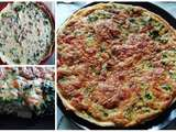 Quiche aux brocolis