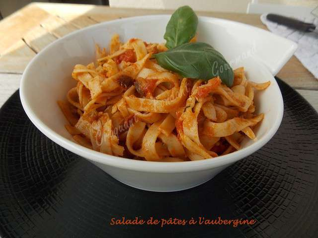 recettes de salade de p 226 tes et aubergines