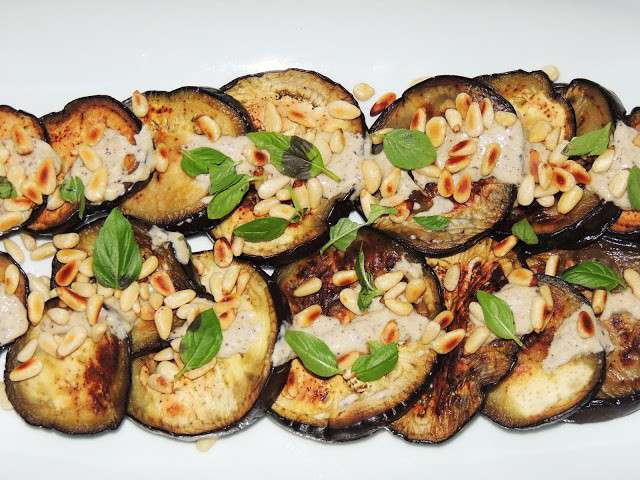 Recettes d 39 aubergines grill es - Recette aubergine grillee ...