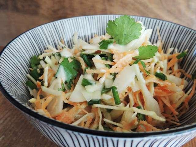 Recettes de coleslaw et sauces - Recette patate douce blanche ...