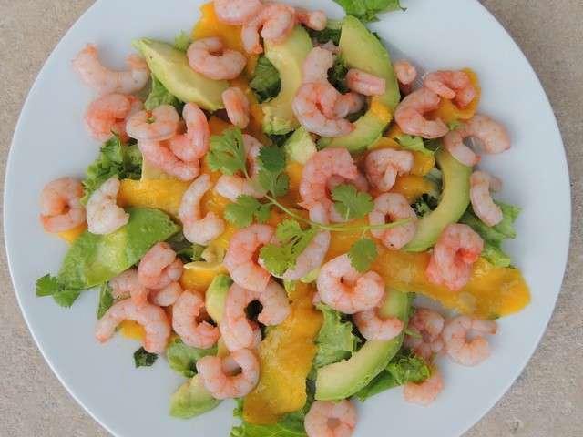 Les meilleures recettes de crevettes de midi cuisine for Entree legere et simple