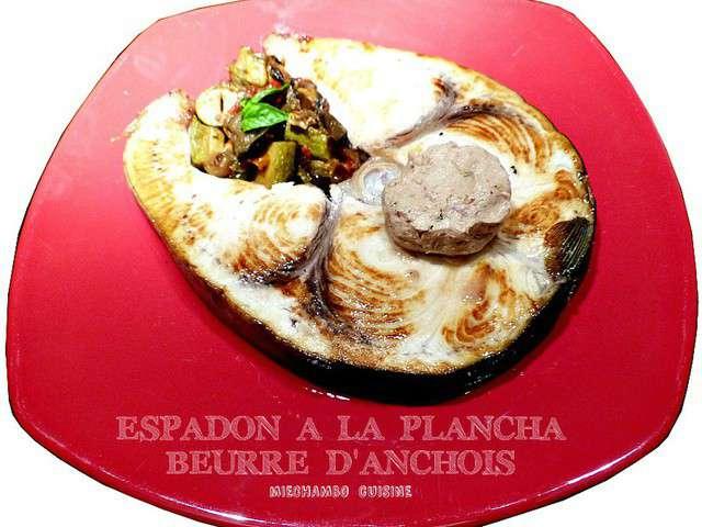 Recettes d 39 anchois et beurre d 39 anchois for Cuisiner a la plancha