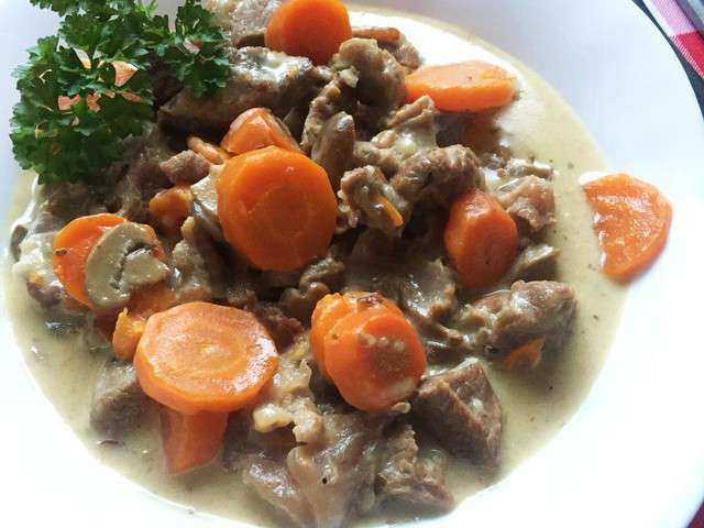 Recettes de blanquette de veau de mimi cuisine - Cuisine blanquette de veau ...
