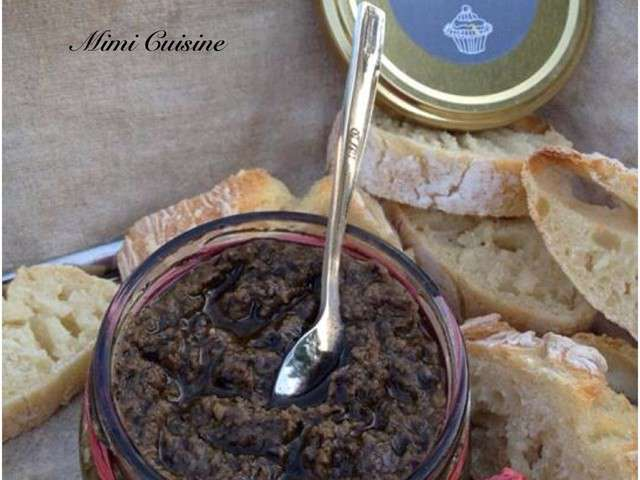 recettes de tapenade de mimi cuisine. Black Bedroom Furniture Sets. Home Design Ideas