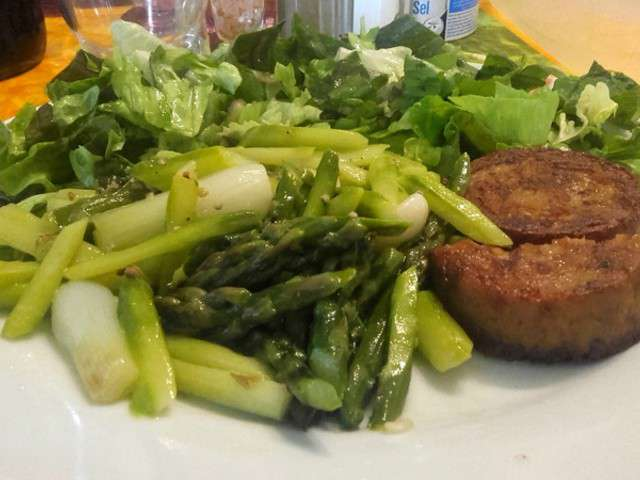 Recettes de salade verte et asperges - Recette salade verte ...