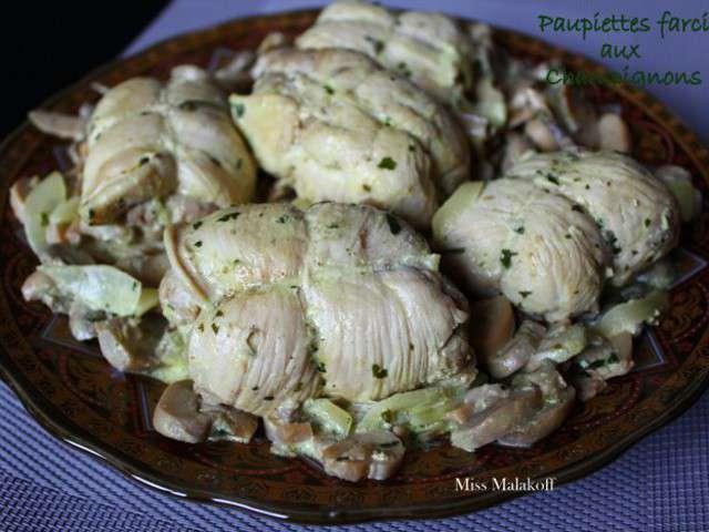 Recettes de paupiettes de miss malakoff cuisine - Comment cuisiner des paupiettes de veau ...