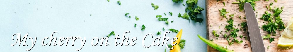 Recettes de My cherry on the Cake