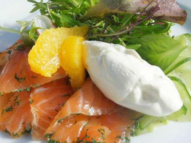 Recettes de saumon de my cherry on the cake - Saumon gravlax rapide ...