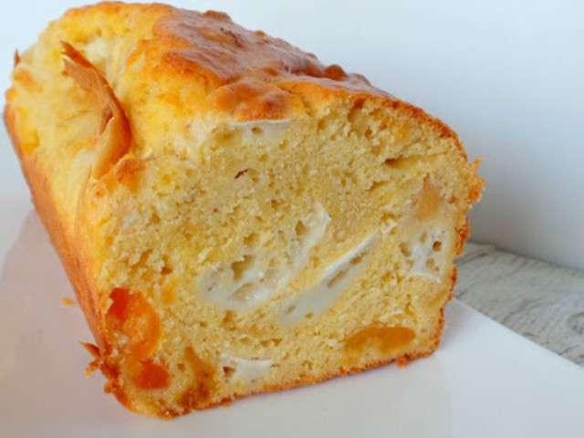 Cake Chevre Abricot Frais