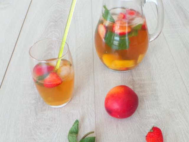 Iced Strawberry Green Tea Recipes — Dishmaps