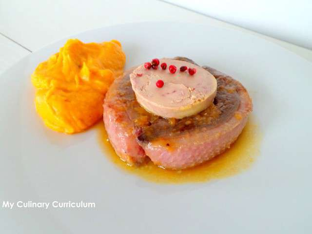 Duck breast jus thought differently