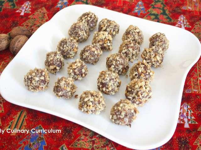 truffes-au-chocolat-au-lait-et-aux-noix-milk-chocolate-truffles-and ...