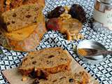 Cake aux fruits secs – Healthy fall cake – Recette sans oeuf