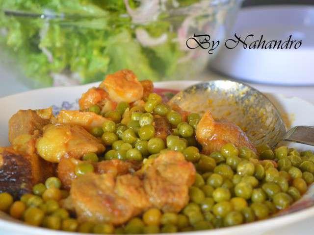 recettes de petits pois de nahandro cuisiner en toute simplicit 233