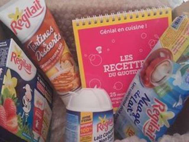 Recettes de partenariat de nan 39 s cooking la cuisine et le for Regilait cuisine
