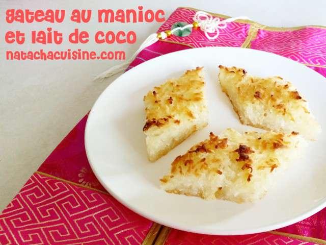 Gateau semoule de manioc
