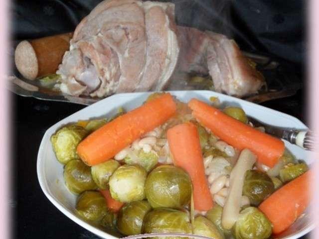 Soupe au lard de for Maman cuisine x