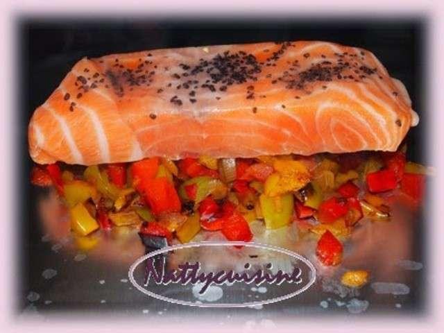 Les meilleures recettes de saumon et papillotes 6 for Saumon en papillote au barbecue