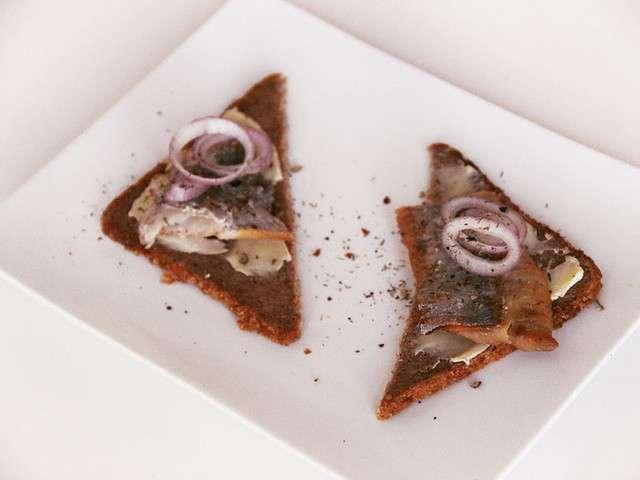 Recettes de toasts et hareng for Canape au fromage