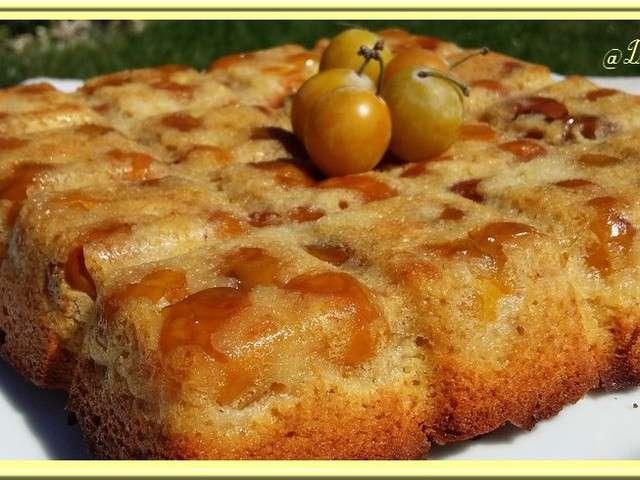 Recette De Cake Aux Mirabelles