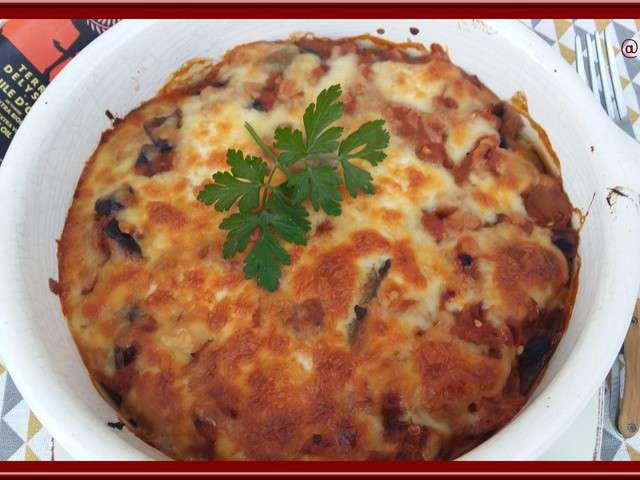Recettes d 39 aubergines et thon - Cuisiner aubergine rapide ...