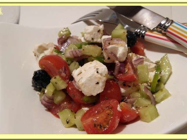 Recettes de d fi cuisine grecque et salade grecque for Cuisine grecque