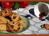 Bannique: biscuits Canadien aux cranberries