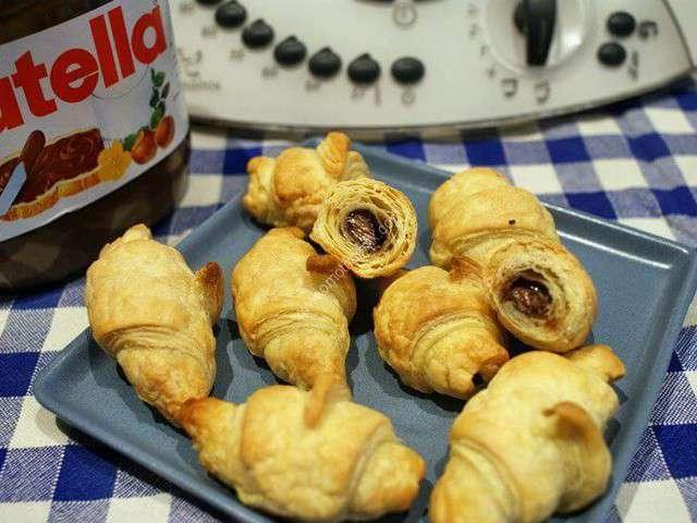 Préférence Recettes de Croissants et Nutella PR26