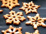 Gingerbread snowflakes ( Bredele 2016 )