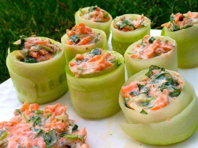 Les meilleures recettes d 39 entr es et concombre 5 for Les entrees en cuisine