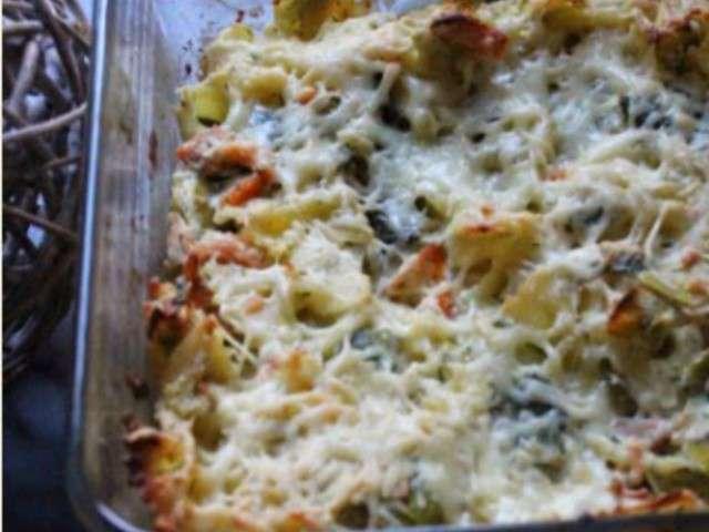 recettes de gratin de pates et saumon fum 233