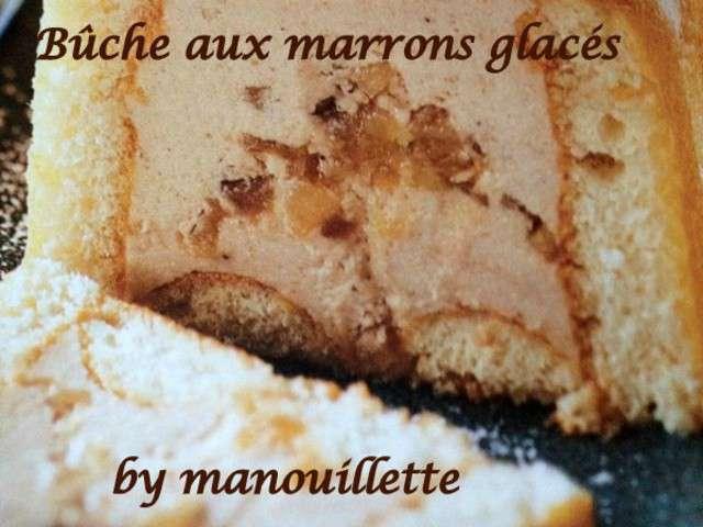 Recettes de b che aux marrons - Herve cuisine buche marron ...