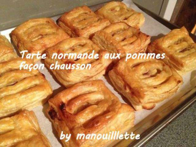 recettes de tarte normande aux pommes. Black Bedroom Furniture Sets. Home Design Ideas