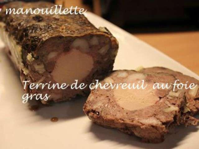 recettes de chevreuil et foie gras. Black Bedroom Furniture Sets. Home Design Ideas