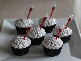 Cupcakes coco framboise – Design cervelle