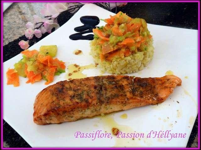 Recettes de pav de saumon et carottes - Comment cuisiner des paves de saumon ...
