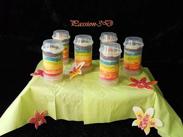 Pin rainbow push up cake pops 826food cake on pinterest - Recette pop cake ...
