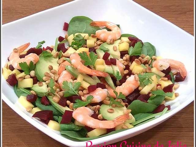 Recettes de salade exotique for Koi y mange zordi