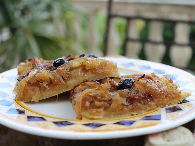 Recettes d 39 anchois et pissaladi re for Passion cuisine