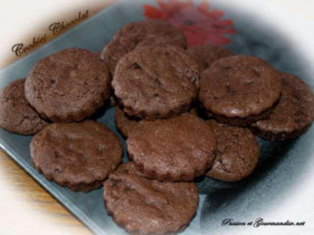 recettes de cookies au chocolat et chocolat 4. Black Bedroom Furniture Sets. Home Design Ideas