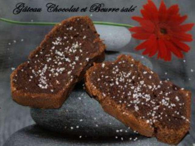 recettes de g teau chocolat et beurre sal. Black Bedroom Furniture Sets. Home Design Ideas