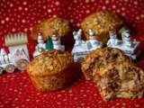 Muffins Banane, Orange et noix
