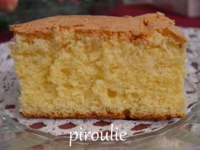 Recettes de Génoise de Pâtisseries et gourmandises