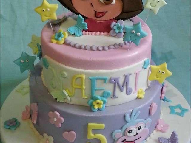 Cake Design Dora L Exploratrice : Recettes de Cake Design de patoche & Compagnie