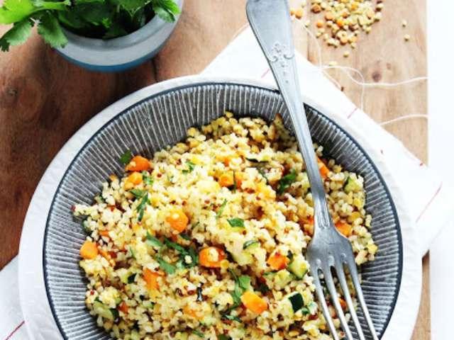 legumes secs recette
