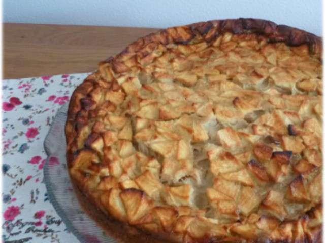 Recettes de flognarde et pomme for Maman cuisine x