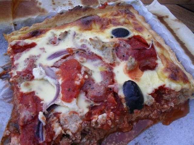 Cake Au Thon Et Pulpe De Tomate