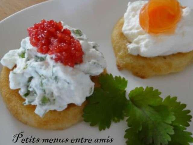 Recettes de blinis de petits menus entre amis for Menus entre amis rapide